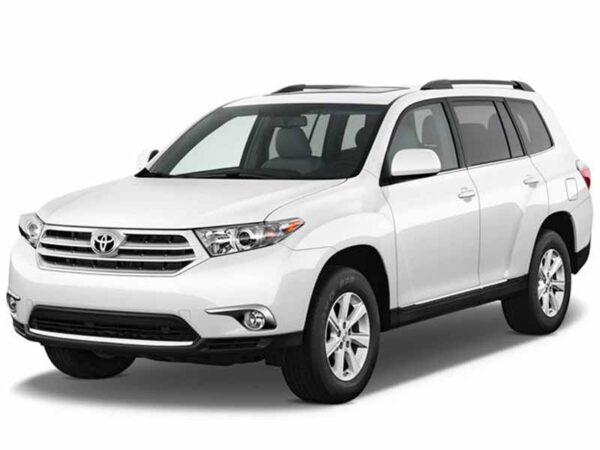 SUV for rent Toyota Highlander