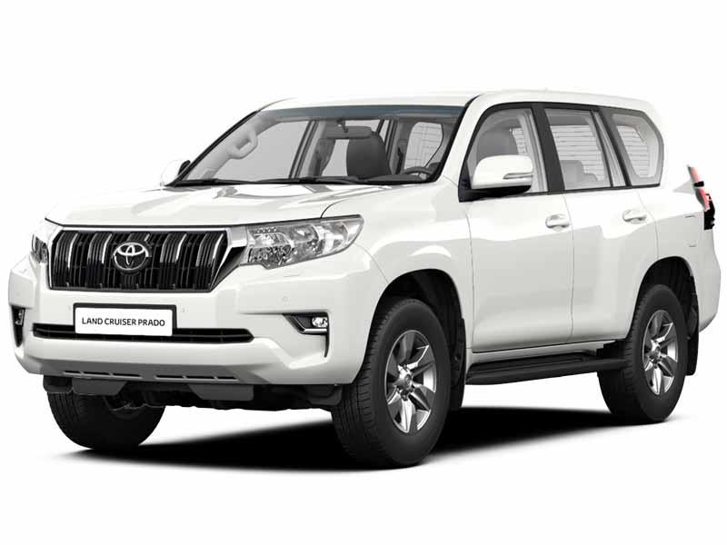 SUV for rent Toyota Prado