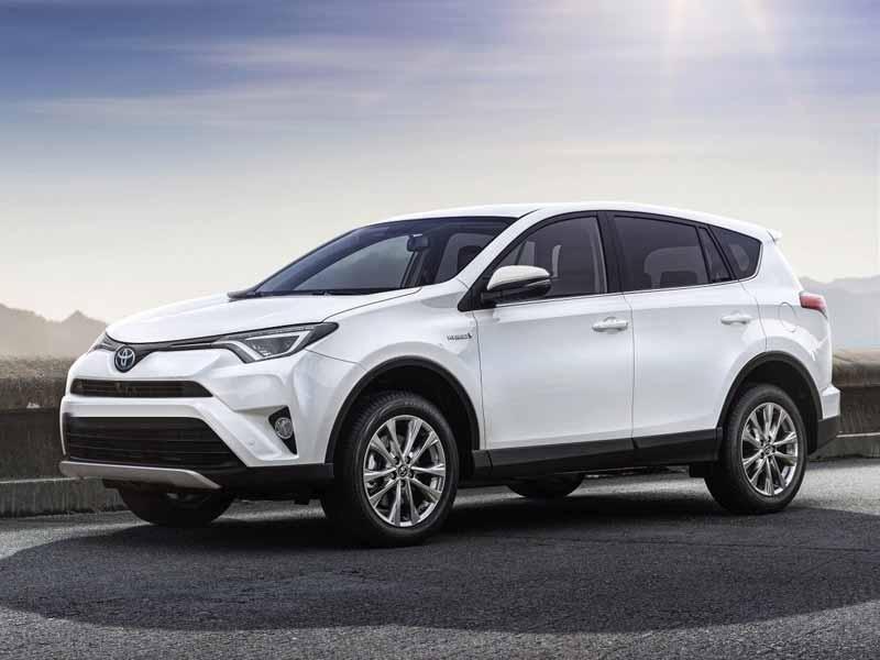 SUV for rent Toyota RAV4