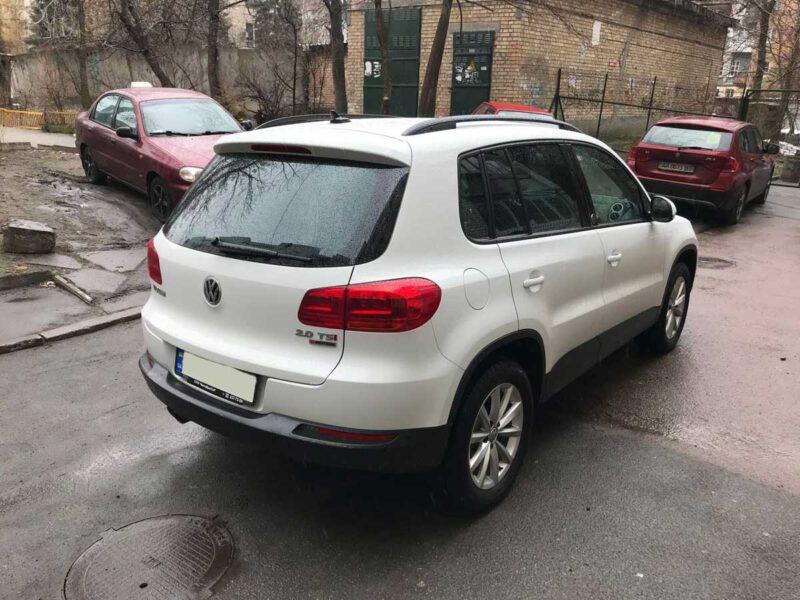 Hire a Volkswagen Tiguan SUV