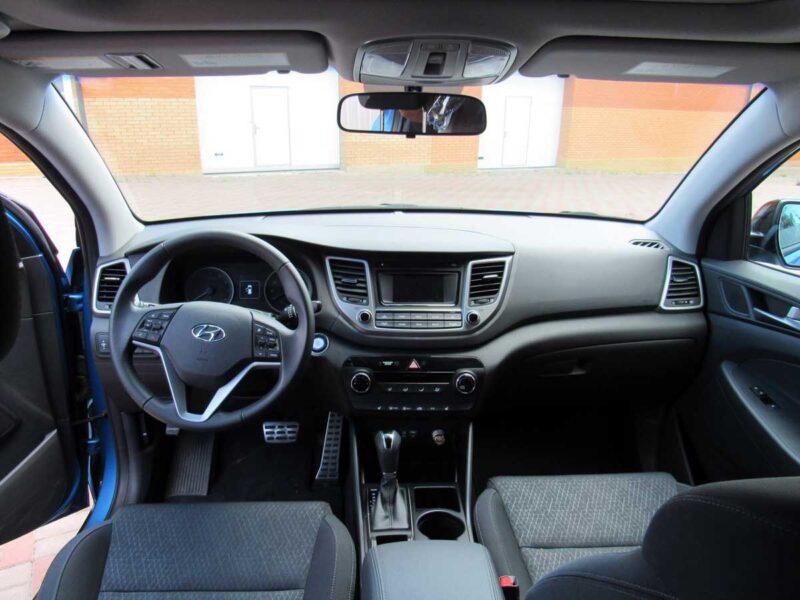 Hire a Hyundai Tucson SUV